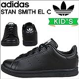 (アディダス)adidas スニーカー STAN SMITH EL C スタンスミス BA8376 US13.5K-19.5 (並行輸入品)