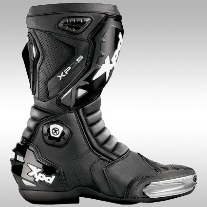 XPD(エックスピーディー) バイクブーツ ブラック (サイズ:26.5cm/42) XP-3S XPN018