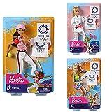 バービー(Barbie) 東京オリンピックライセンス バービー 3体セット