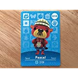 Animal Crossing Happy Home Designer Amiibo Card Pascal 010/100 by Nintendo [並行輸入品]
