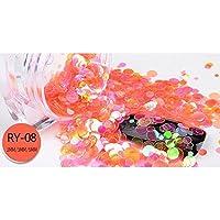 1ボックス ミニ 人魚 ネイルスパンコール キラキラ超薄スパンコール UVジェルネイルアートデコレーション 12色選べ [並行輸入品]