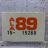 Vintage Plate Year Sticker WH