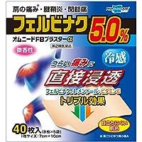 【第2類医薬品】オムニードFBプラスターα 40枚 ×5 ※セルフメディケーション税制対象商品