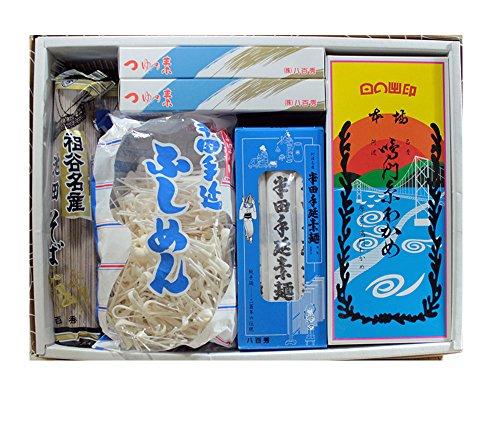 阿波の味71 FIO-30 鳴門わかめ・半田素麺・ふしめん・祖谷そばギフトセット