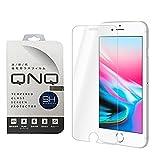 iPhone 8 ガラスフィルム 液晶保護フィルム 4.7インチ フィルム 強化ガラス 3D Touch対応 硬度9H QNQ