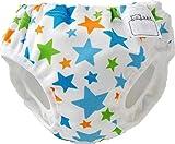 DM便発送 水遊び用パンツ カラフル星柄(100cm) ベビースイミング 水あそびパンツ 男児パンツ型 (100)