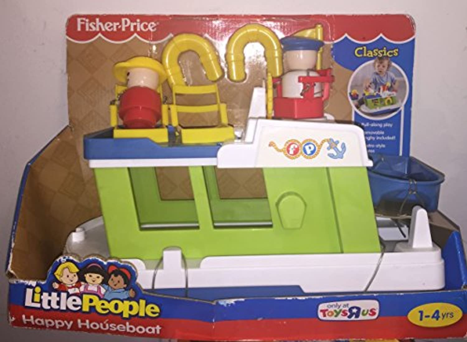 Little People Happy Houseboat