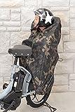 Planet Ride 子ども乗せ自転車 防寒カバー 後ろ用 シートカバー兼用 (迷彩)