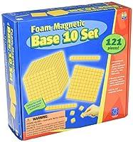 [エデュケーショナルインサイト]Educational Insights Foam Magnetic Base 10 Set 4805 [並行輸入品]