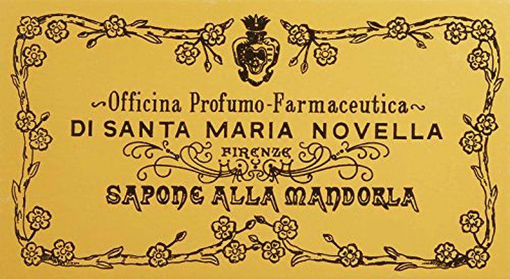 雪悪性の楽観サンタ?マリア?ノヴェッラ アーモンドソープ 3P 3x105g 並行輸入品