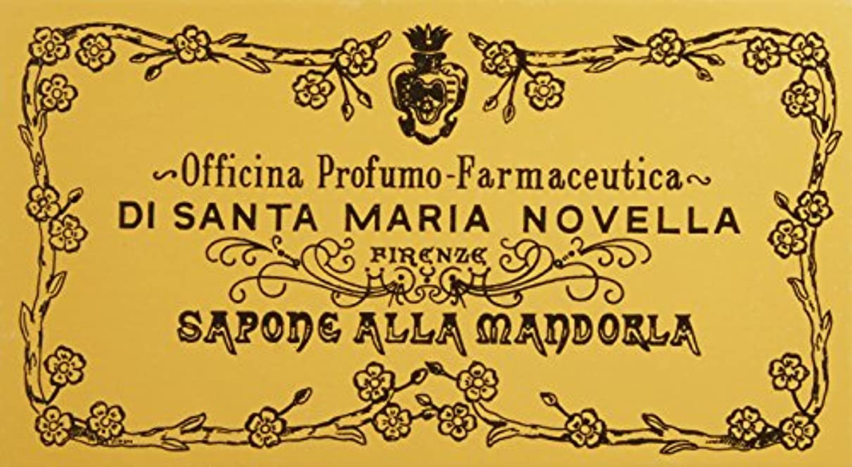 カヌー干ばつ師匠サンタ?マリア?ノヴェッラ アーモンドソープ 3P 3x105g 並行輸入品