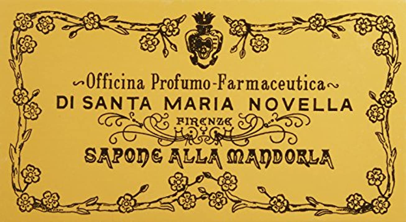 一時的ゴールデン宣言サンタ?マリア?ノヴェッラ アーモンドソープ 3P 3x105g 並行輸入品