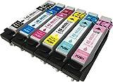 【堀出物屋】 6色セット EPSON(エプソン) IC6CL80 対応 互換インクカートリッジ 【残量表示対応 ICチップ付】