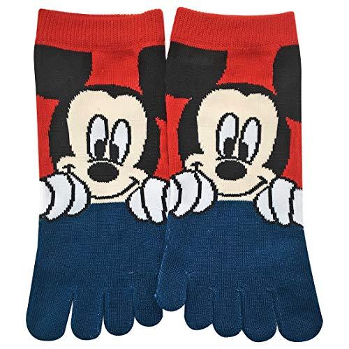 ディズニー 5本指ソックス ミッキーマウス 23㎝~25㎝ ...