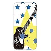 ホワイトナッツ AQUOS Xx3 mini 603SH ケース クリア ハード プリント パターンE(cw-645) スリム 薄型 ミュージシャン ギター 音楽 WN-PR410783