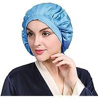 LILYSILK Night Sleep Cap Sleeping Cap Hat Pure Mulberry Silk One Size