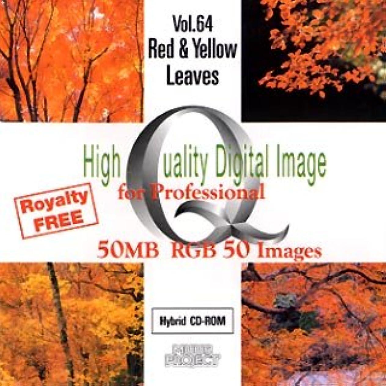 生物学キャメル手錠High Quality Digital Image for Professional Vol.64 Red & Yellow Leaves