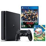 PlayStation 4 ジェット・ブラック 500GB + ウイニングイレブン2018 + New みんなのGOLF ダウンロード版【Amazon.co.jp限定】オリジナルカスタムテーマ配信