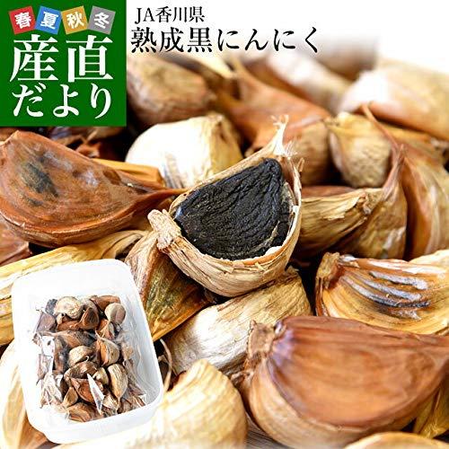 産直だより JA香川県 熟成黒にんにく 約300g