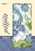 Holy Bible: New International Version, Blue Paisley Flexcover, Quilted Collection Bible