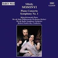 モショーニ:ピアノ協奏曲/交響曲第1番