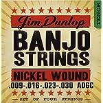 Dunlop DJN0930 Banjo Strings Nickel Tenor .009?.030 4 Strings/Set 【TEA】 [並行輸入品]