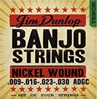 Dunlop DJN0930 Banjo Strings Nickel Tenor .009?.030 4 Strings/Set [並行輸入品]