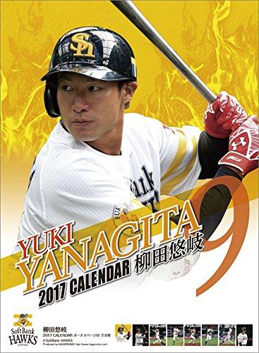 柳田悠岐(福岡ソフトバンクホークス) 2017年 カレンダー 壁掛け B2
