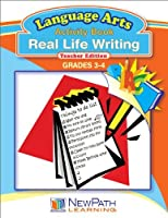 NewPath Learning Real Life Writing Reproducible Workbook Grade 3-4 [並行輸入品]