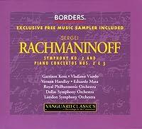 Rachmaninoff: Great Symphonies & Piano Borders