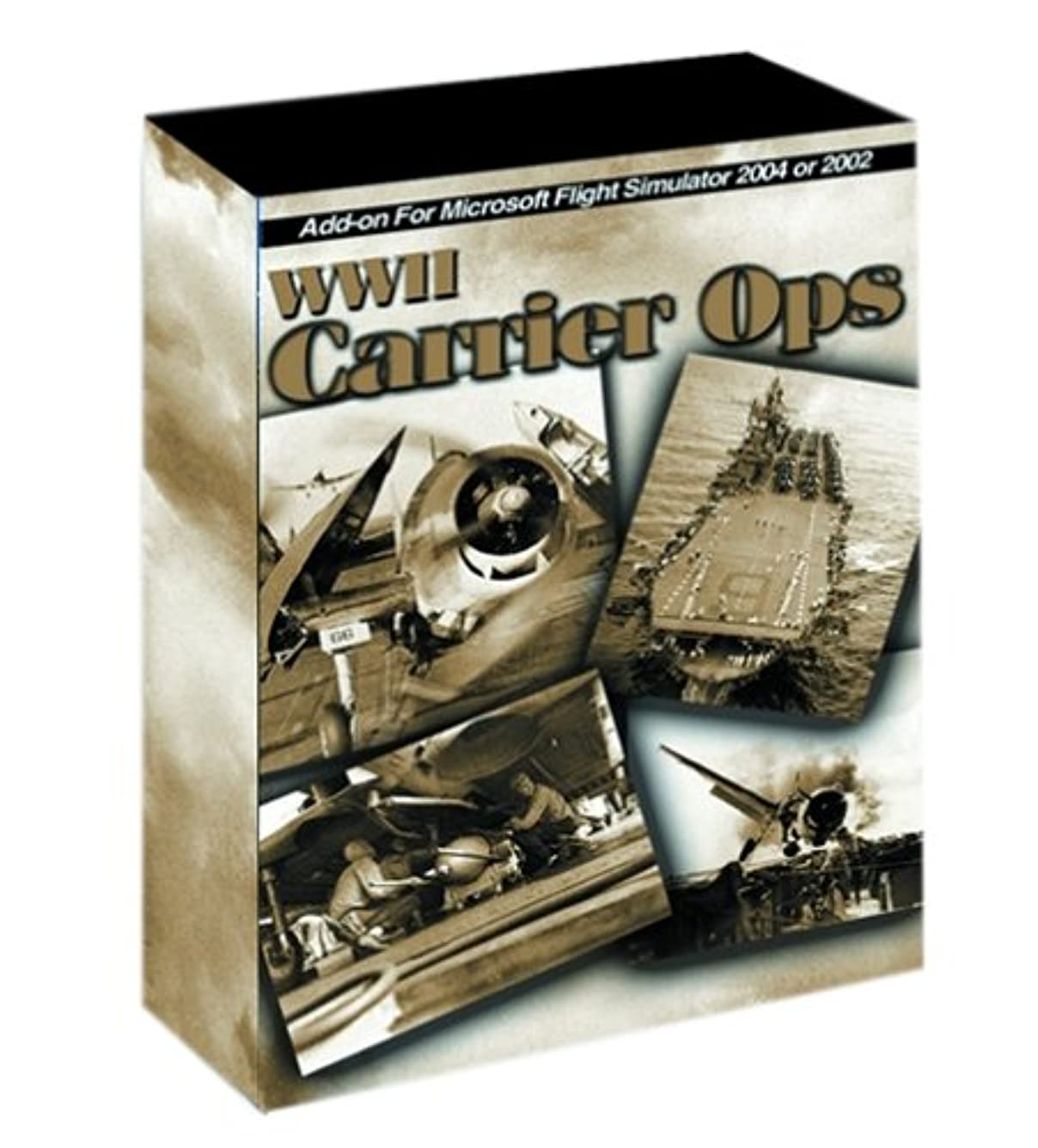 WWII Carrier Ops for Microsoft Flight Sim 2004 and 2002 (輸入版)