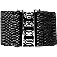 GRACE KARIN Women's Fashion Elastic Wide Waist Belt with Metal Buckle