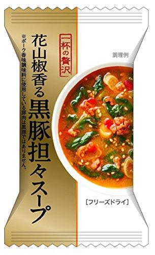 一杯の贅沢花山椒香る黒豚担々スープ 13.5g