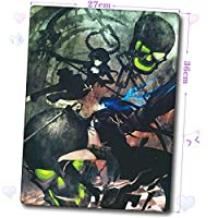 Slolita 大判マウスパッド ブラック★ロックシューター BLACK★ROCK SHOOTER BRS パソコン 周辺機器 マウス マウスパッド キーボードパッド おしゃれ 萌え (36cm*27cm)