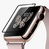 HOCO Apple Watch 1 / 2 フィルム 液晶シールド アップルウォッチ 保護フィルム 9H硬度 0.1mm 飛散防止処理 気泡防止 高光沢 耐衝撃 38mm