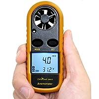 CoMo Good 風速計 デジタル 温度計 簡易測定 小型 収納袋セット gm816