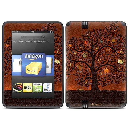 DecalGirl スキンシール Kindle Fire HD(2012年モデル)専用スキン - Tree of Books
