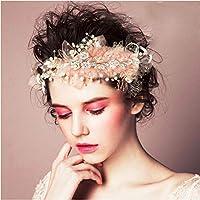 花嫁 ヘッドドレス フラワー 花 パール ウェディング ヘアアクセサリー 結婚式 ブライダル 和装 髪飾り