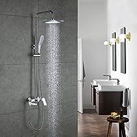 バスタブシャワー蛇口セット浴室ミキサーシャワーバスタブ雨水シャワーウォールトルネイラタップシャワーヘッドby MAG.AL