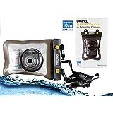 Navitech London デジカメ用水防止ポーチケース (Canon PowerShot G7 X/ FUJIFILM XQ2 / Canon PowerShot G3 X / OLYMPUS STYLUS TG-4 Tough / Sony サイバーショット DSC-HX90V/ Canon PowerShot SX710 HS/ Ricoh GR II/ Panasonic LUMIX DMC-LX100/ Nikon COOLPIX S9900/ COOLPIX P610 / OLYMPUS STYLUS 1s) (Panasonic LUMIX DMC-LX100)