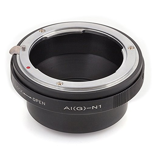 (バシュポ) Pixco マウントアダプターNikon F マウントG レンズ-Nikon 1 カメラ対応 J5 J4 S2 V3 AW1 J3 J2 J1 V2 S1 V1
