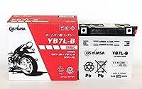 ジャパン GSユアサ バッテリー YB7L-B (GY) 12Vバイク用 開放式 液入り 充電済み バッテリー 【BSMオリジナル】