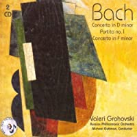 Bach: Concerto in D and F minor, Partita No. 1 / Jazz Arrangments