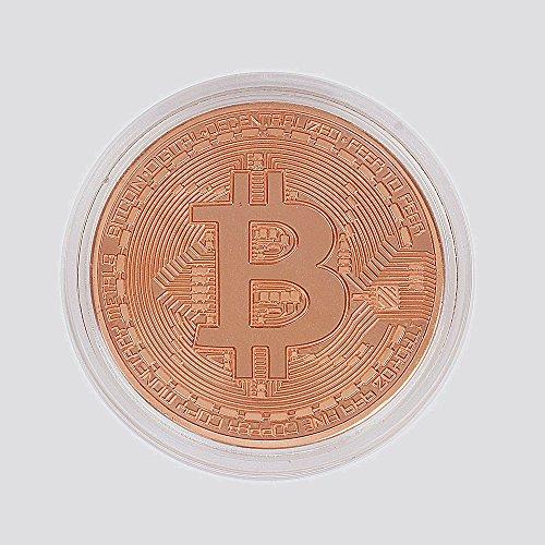 GAOHOU ビットコイン銅メッキBitcoin仮想通貨 コイングッズギフトBTCコインアートコレクション