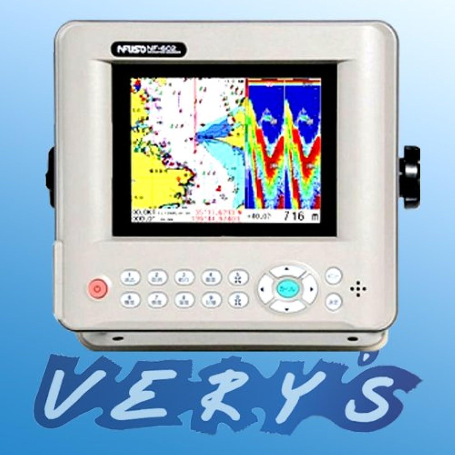 肯定的地元アッティカスFUSO(フソー) 5.6型LEDカラー液晶GPS?プロッタ?魚探 2周波 400W NF-602α デジタル魚探