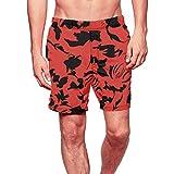 男性のショーツ、三番目の店 メンズ 春 夏 ファッション カジュアル ビーチ ルーズ ソリッド 水泳パンツ ショートパンツ スイムトランクスクイックドライ ビーチ サーフィン ランニング 水泳パンツ