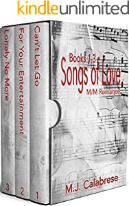Songs of Love : Books 1-3 (English Edition)