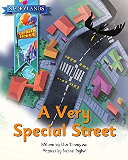 A Very Special Street: A Storylands, Larkin Street Book by [Thompson, Lisa, Eggs, Reading]