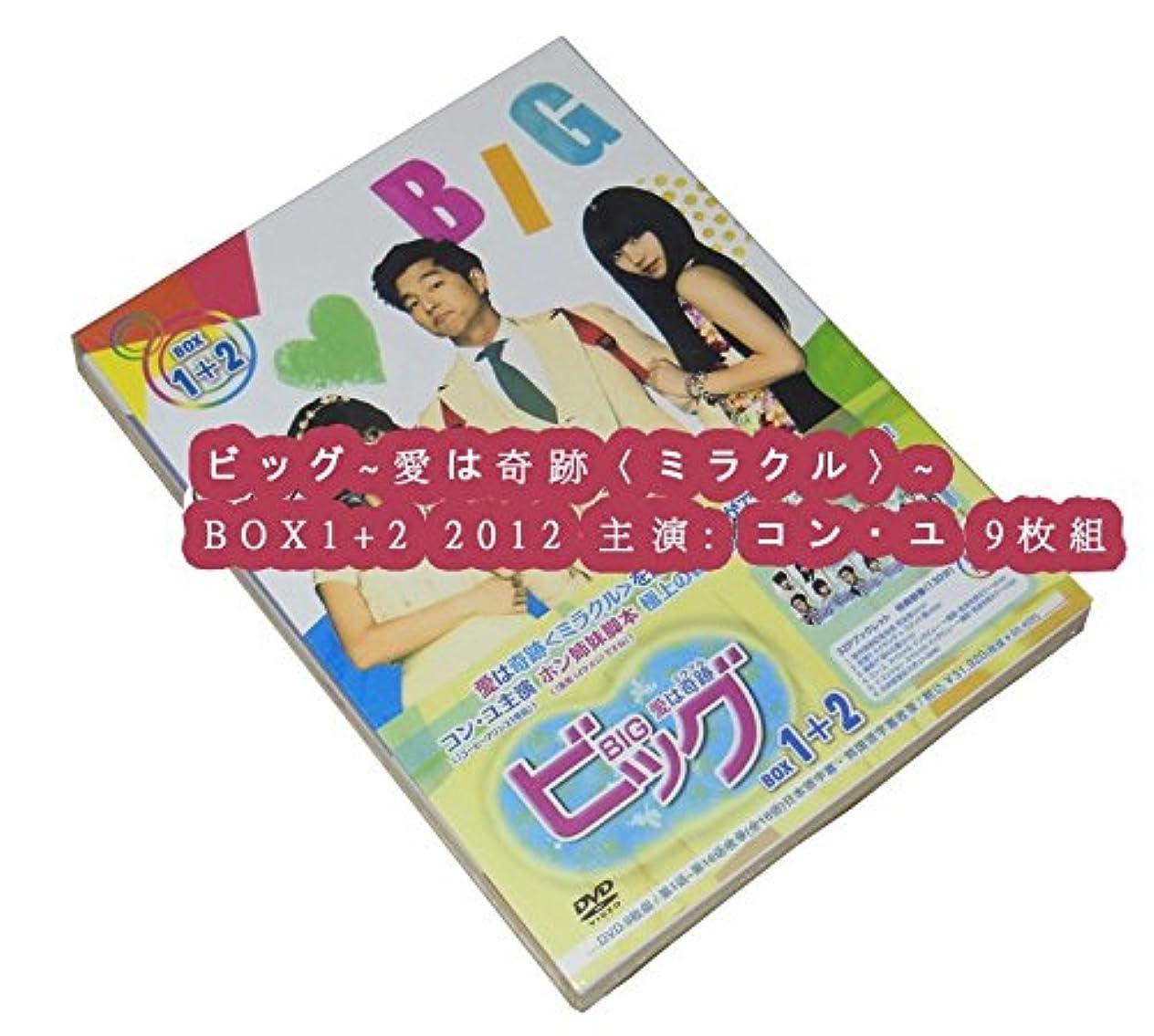雄弁長さ推定ビッグ~愛は奇跡〈ミラクル〉~ BOX1+2 2012 主演: コン?ユ