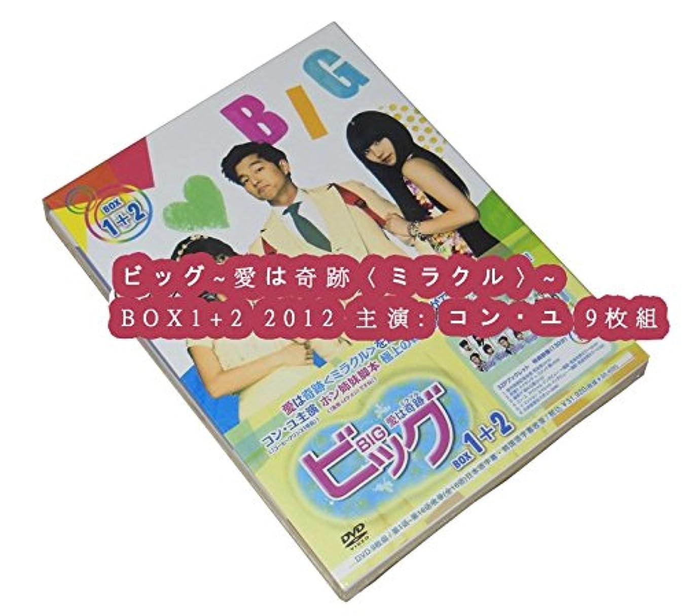 簡単に木製主要なビッグ~愛は奇跡〈ミラクル〉~ BOX1+2 2012 主演: コン?ユ
